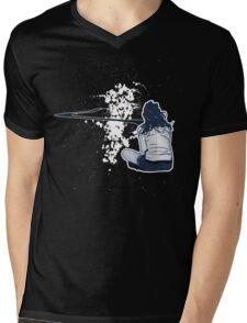 Walking on the Milky Way Mens V-Neck T-Shirt