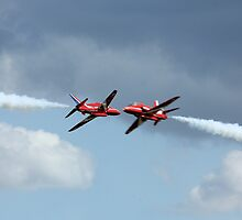 Red Arrows cross by PhilEAF92