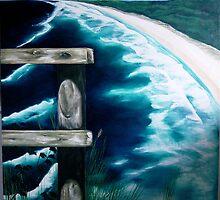 Stradbroke Island by Eva Fritz