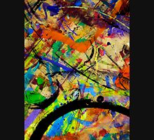 08 Paint in Abstract on Work Table  Unisex T-Shirt