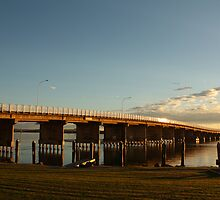Forster-Tuncurry Bridge by Jade  Douglas