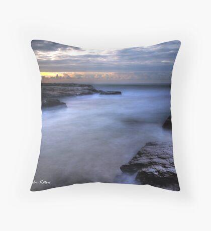 Would You Dare? - Turimetta Beach, NSW Throw Pillow