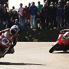 First lap, first corner. #2. by Finbarr Reilly