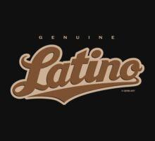 GenuineTee - Latino (brown) by GerbArt