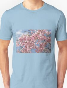 Japanese Weeping Cherry blossoms Unisex T-Shirt