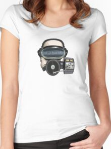 Record Mask Women's Fitted Scoop T-Shirt