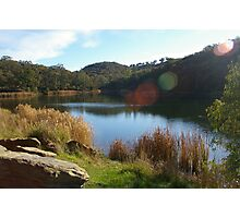 Early morning, Golden point reservoir Photographic Print