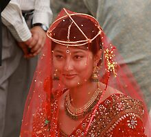 Indian bride in Thailand by stjc