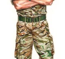 Royal Marine Officer Sticker