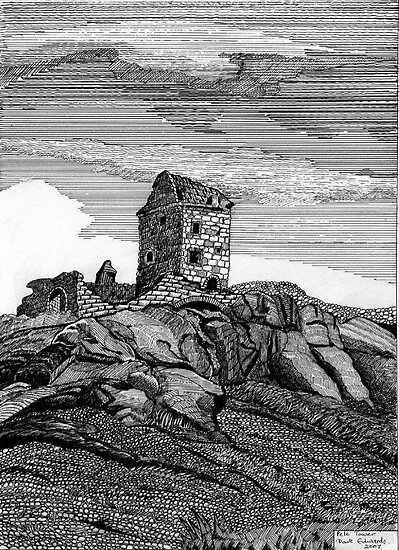 210 - PELE TOWER - DAVE EDWARDS - INK - 2007 by BLYTHART