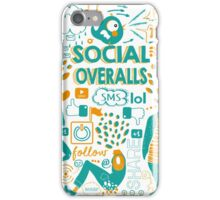 Social Overalls iPhone Case/Skin