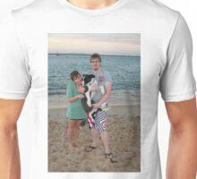 18. Craig & Sam with their Border Collie Unisex T-Shirt