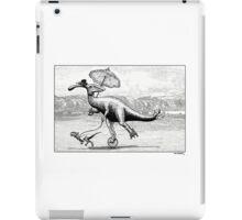 Parasaur wearing Pedspeeds iPad Case/Skin