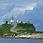 Nobby's Lighthouse - Newcastle NSW by Bev Woodman