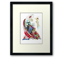 I will give you my love Framed Print