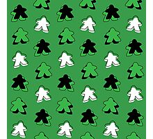 I Call The Green Meeple Photographic Print