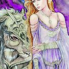 Elin and Soonin by morgansartworld