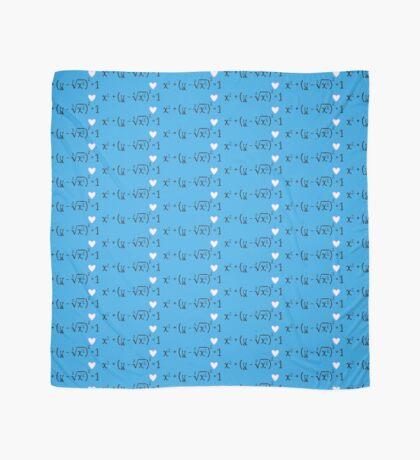 Math heart (blue) Scarf