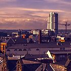 Leeds Skyline at Dusk  by Glen Allen