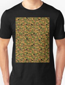 Autumn leaves pattern (Plane tree) wallpaper Unisex T-Shirt