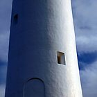 Aireys Lighthouse twisted by Cathy  Walker