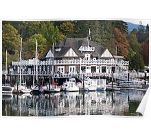 Stanley Park Boat Shed Canada Poster