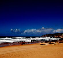 Bubbles and Champagne-Portugal shores by Wayne Cook