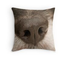 Big Wet Nose Throw Pillow