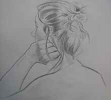 Danni Back Study by PeterVan