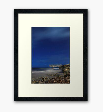 North Beach Jetty - Western Australia  Framed Print
