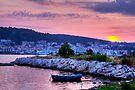 Kefalonian Sunset 5 by Paul Thompson Photography