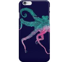 Vector illustration with octopus iPhone Case/Skin