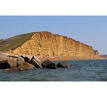 West Bay Coastal View Photographic Print