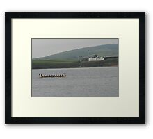 Safely at Scapa Framed Print
