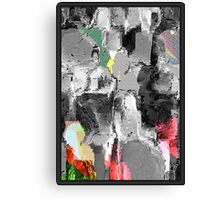 FACE-STANDING OUT FROM THE CROWD Canvas Print