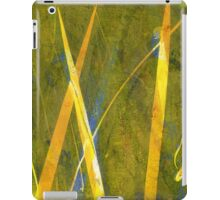 Native Grasslands 3A Restoring Biodiversity 1 of 3 Acrylic Monoprint iPad Case/Skin