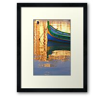Colourful  Malta Framed Print