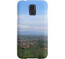 Veresegyház view from Margita Samsung Galaxy Case/Skin