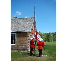 Flag Raising - Canada Day Celebration III Photographic Print