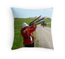 The Volley - Canada Day Celebration - IV Throw Pillow