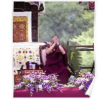 His Holiness The Dalai Lama Plate #3 Poster