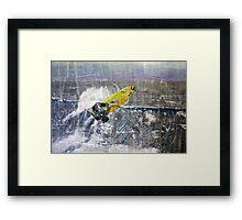 Pipeline Framed Print
