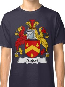 Abbot Family Crest / Abbot Coat of Arms Classic T-Shirt