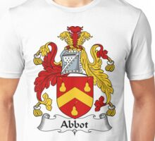 Abbot Family Crest / Abbot Coat of Arms Unisex T-Shirt