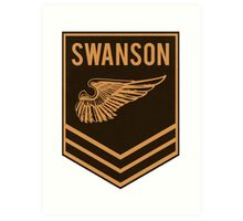 Parks and Recreation - Swanson Ranger Club Art Print