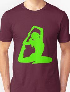 neon green dancer Unisex T-Shirt