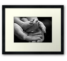 Precious handful of hope Framed Print
