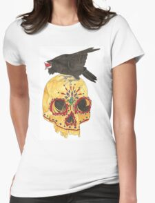 Sounds Like Crows Womens Fitted T-Shirt