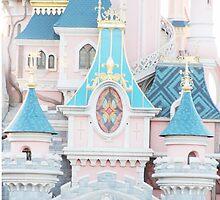 Sleeping Beautys Castle by disneylifelover