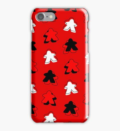 I Call The Red Meeple iPhone Case/Skin